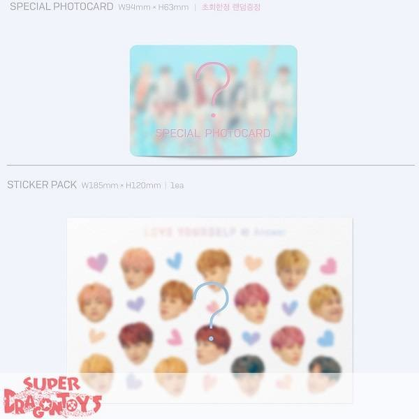 """BTS - LOVE YOURSELF """"ANSWER"""" - [S] VERSION - SPECIAL ALBUM"""