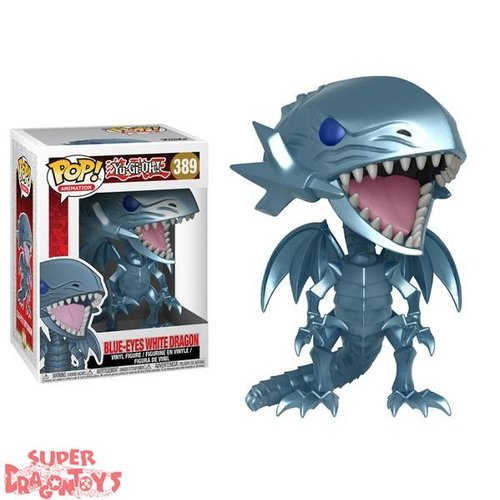 FUNKO  YUGIOH! - BLUE EYES WHITE DRAGON - FUNKO POP