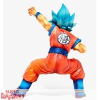 """DRAGON BALL SUPER - SUPER SAIYAN GOD SUPER SAIYAN GOKU - """"KING CLUSTAR"""" BIG SIZE FIGURE"""
