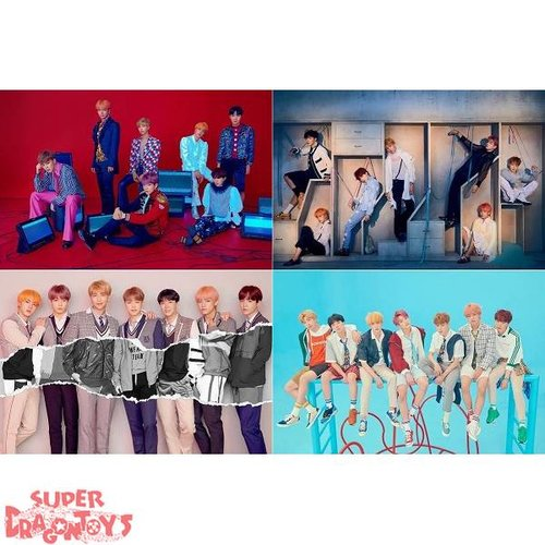 "BTS - ""LOVE YOURSELF ANSWER"" OFFICIAL POSTERS - PACK [S.E.L.F] 4 VERSIONS"