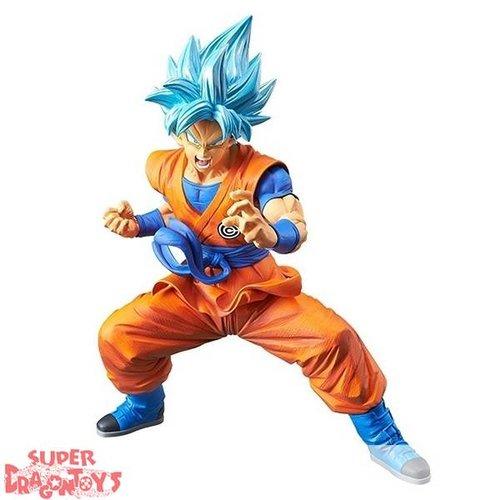 """BANPRESTO  SUPER DRAGON BALL HEROES - SUPER SAIYAN GOD SUPER SAIYAN SON GOKOU - """"CHOZETSU GIKO"""" FIGURE SERIE 1"""