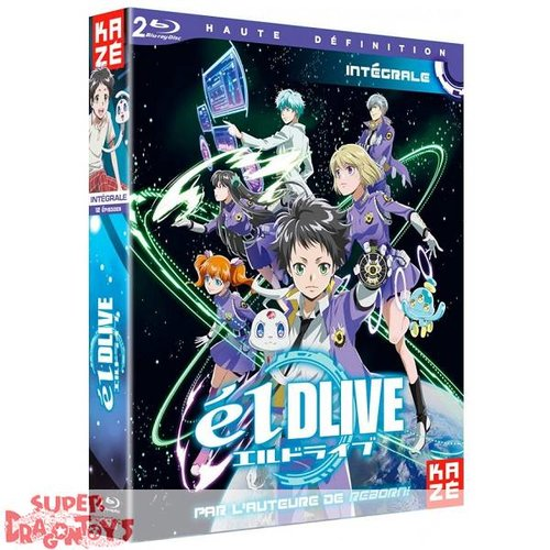 KAZE VIDEO ELDLIVE - INTEGRALE - COFFRET BLU RAY