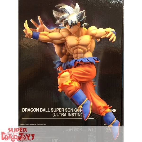 "BANPRESTO  DRAGON BALL SUPER - SON GOKU [ULTRA INSTINCT] - ""BATTLE"" FIGURE [LIMITED EDITION]"
