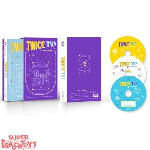 TWICE - TWICE TV6 : TWICE IN SINGAPORE - [3DVD] BOX