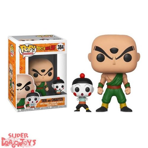 FUNKO  DRAGON BALL Z - TIEN & CHIAOTZU - FUNKO POP