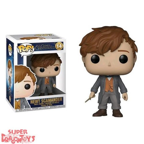 FUNKO  FANTASTIC BEASTS : THE CRIMES OF GRINDELWALD - NEWT SCAMANDER - FUNKO POP