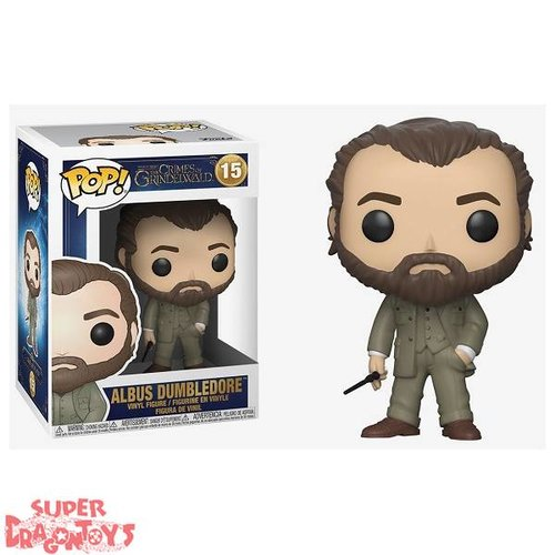 FANTASTIC BEASTS : THE CRIMES OF GRINDELWALD - ALBUS DUMBLEDORE - FUNKO POP