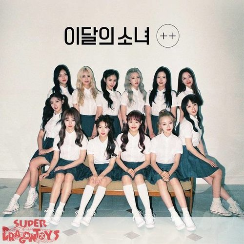 LOONA - [+ +] - [A] LIMITED VERSION - 1ST MINI ALBUM