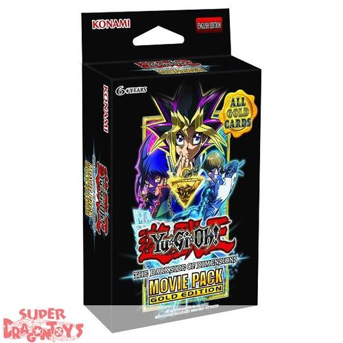 KONAMI YUGIOH TCG - THE DARKSIDE OF DIMENSIONS - MOVIE PACK [EDITION GOLD] - ENGLISH EDITION