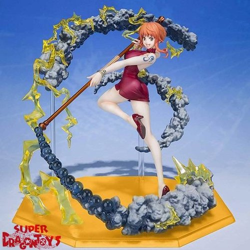 BANDAI ONE PIECE - NAMI [BLACK BALL] - FIGUARTS ZERO EXTRA BATTLE