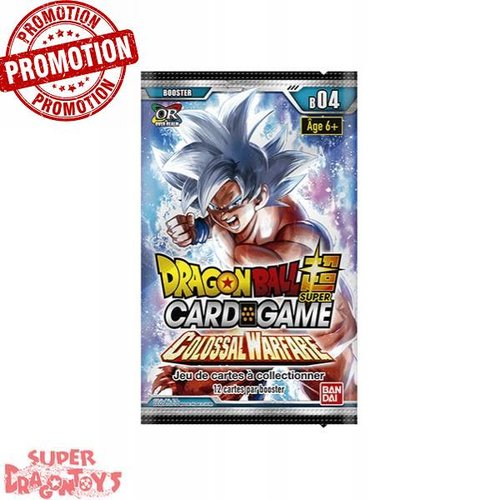 "DRAGON BALL SUPER TCG - BOOSTER ""COLOSSAL WARFARE"" - EDITION FRANCAISE"