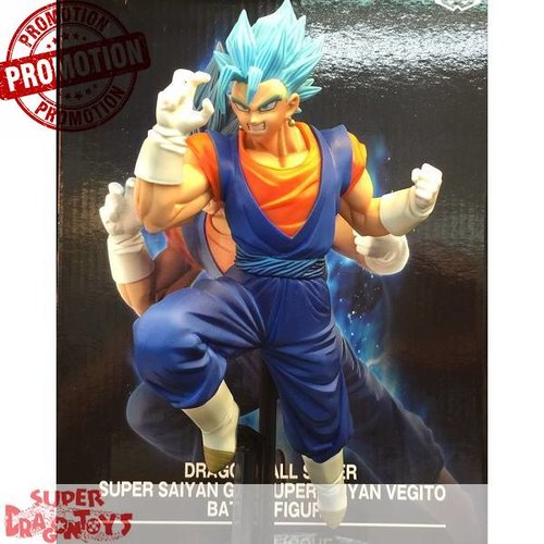 "BANPRESTO  DRAGON BALL SUPER - SUPER SAIYAN GOD SUPER SAIYAN VEGITO - ""BATTLE"" FIGURE [LIMITED EDITION]"