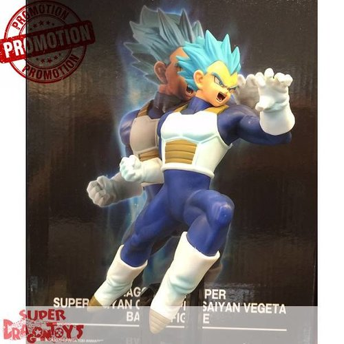 "BANPRESTO  DRAGON BALL SUPER - SUPER SAIYAN GOD SUPER SAIYAN VEGETA - ""BATTLE"" FIGURE [LIMITED EDITION]"