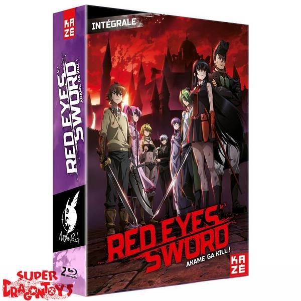 KAZE VIDEO RED EYES SWORD (AKAME GA KILL) - INTEGRALE - COFFRET BLU RAY