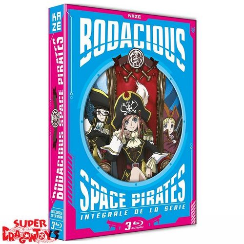 BODACIOUS SPACE PIRATES - INTEGRALE - COFFRET BLU RAY