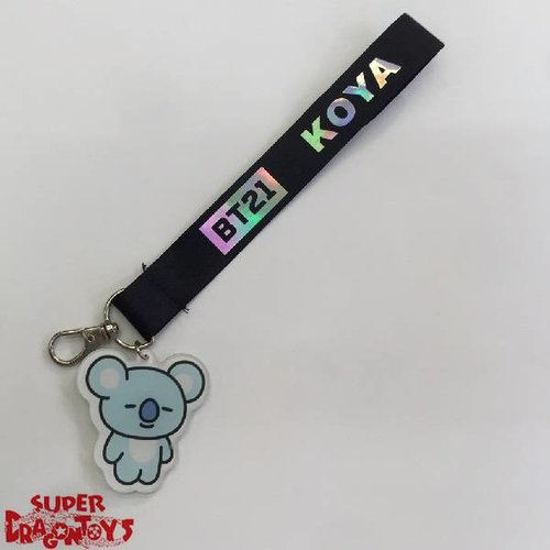BTS - WRIST STRAP KEY [KOYA] (RAP MONSTER) - BT21 COLLECTION