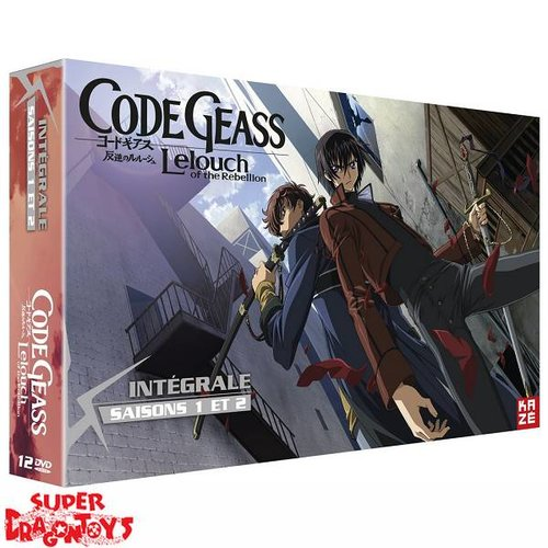 KAZE VIDEO CODE GEASS : LELOUCH OF THE REBELLION - INTEGRALE [SAISONS 1 + 2] - EDITION LIMITEE - COFFRET DVD