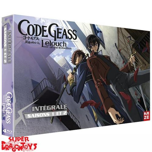 CODE GEASS : LELOUCH OF THE REBELLION - INTEGRALE [SAISONS 1 + 2] - EDITION LIMITEE - COFFRET BLU RAY