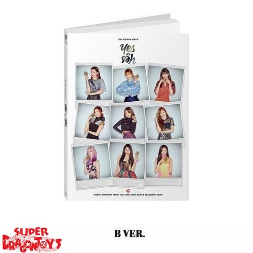 TWICE - YES OR YES - [B] VERSION - 6TH MINI ALBUM