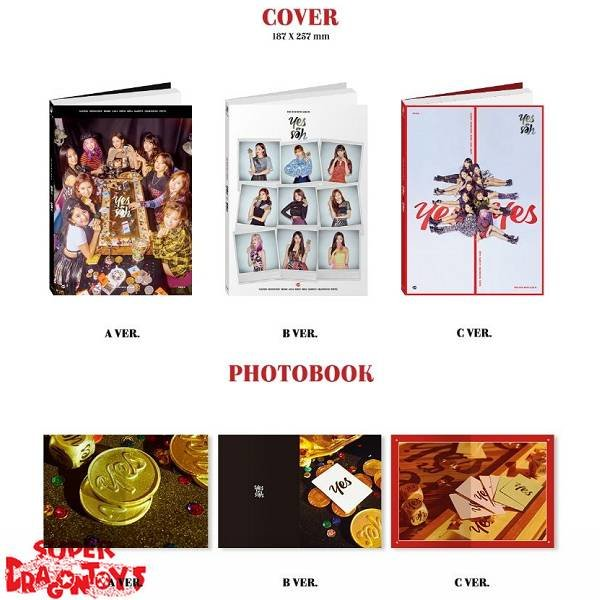 TWICE - YES OR YES - [C] VERSION - 6TH MINI ALBUM