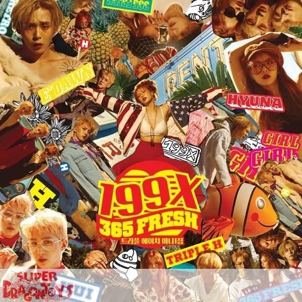 TRIPLE H - 199X - 1ST MINI ALBUM