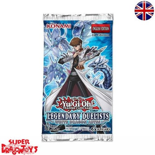 "KONAMI YUGIOH TCG - BOOSTER ""LEGENDARY DUELISTS - WHITE DRAGON ABYSS"" - ENGLISH EDITION"