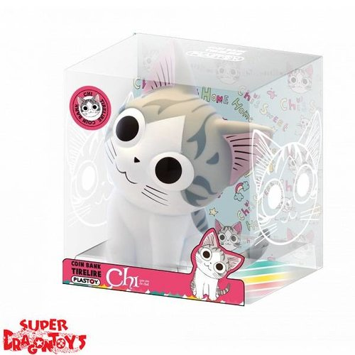 PLASTOY CHI, UNE VIE DE CHAT - CHI - COIN BANK / TIRELIRE