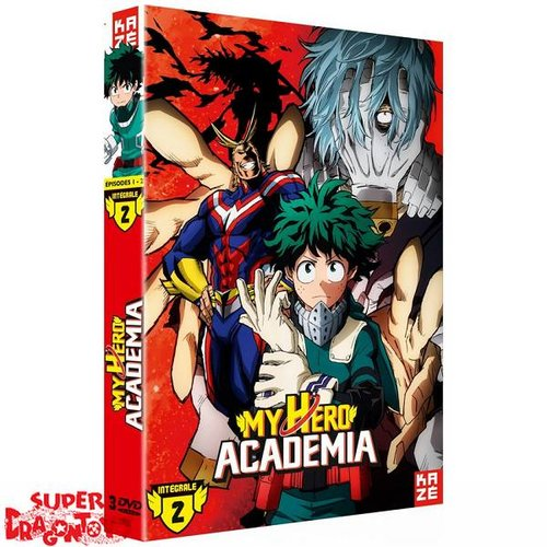 KAZE VIDEO MY HERO ACADEMIA - SAISON 2 - COFFRET DVD