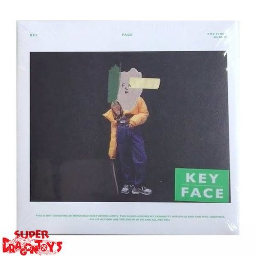 KEY - FACE - [WHITE COVER] VERSION - 1ST ALBUM