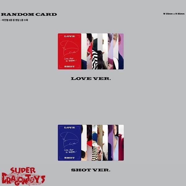 EXO - LOVE SHOT - [SHOT] VERSION - 5TH [REPACKAGE] ALBUM
