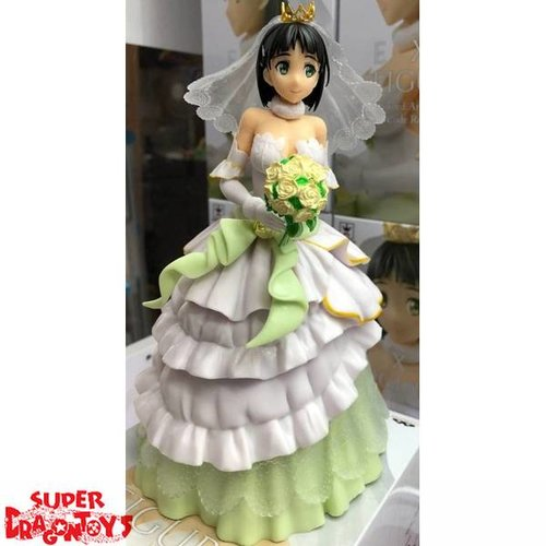 SWORD ART ONLINE - SUGUHA [WEDDING DRESS] - CODE REGISTER EXQ FIGURE