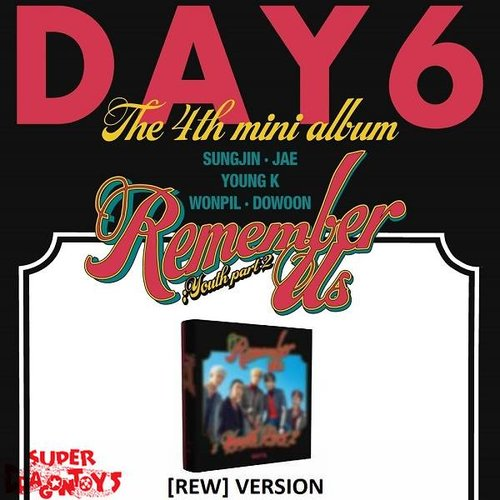 DAY6 - REMEMBER US : YOUTH PART 2 - [REW] VERSION - 4TH MINI ALBUM