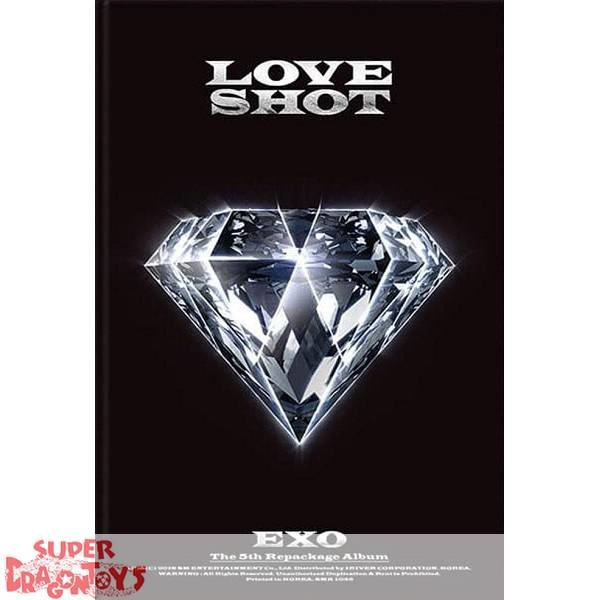 EXO - LOVE SHOT - [LOVE] VERSION - 5TH [REPACKAGE] ALBUM