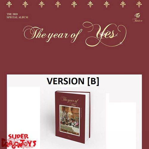 TWICE - THE YEAR OF YES - [B] VERSION - 3RD SPECIAL ALBUM
