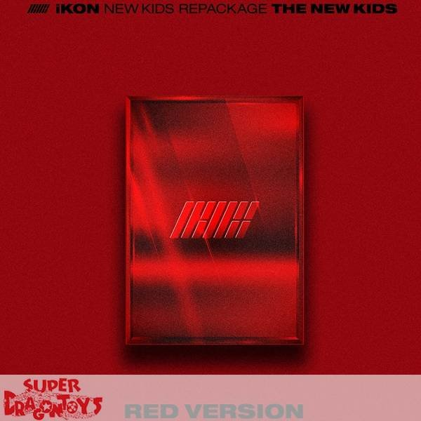 IKON - THE NEW KIDS - [RED] VERSION - REPACKAGE ALBUM