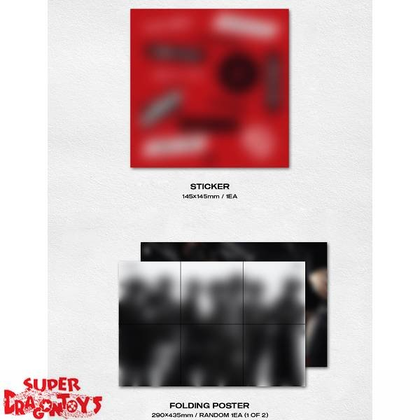 ATEEZ - TREASURE EP.2 : ZERO TO ONE - 2ND DEBUT ALBUM