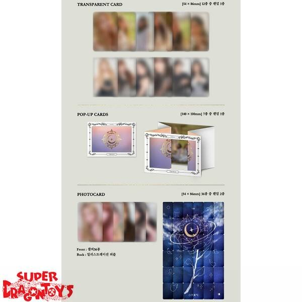 GFRIEND - TIME FOR US - [MIDNIGHT] VERSION - 2ND ALBUM + FREE [FOLDED] OFFICIAL POSTER