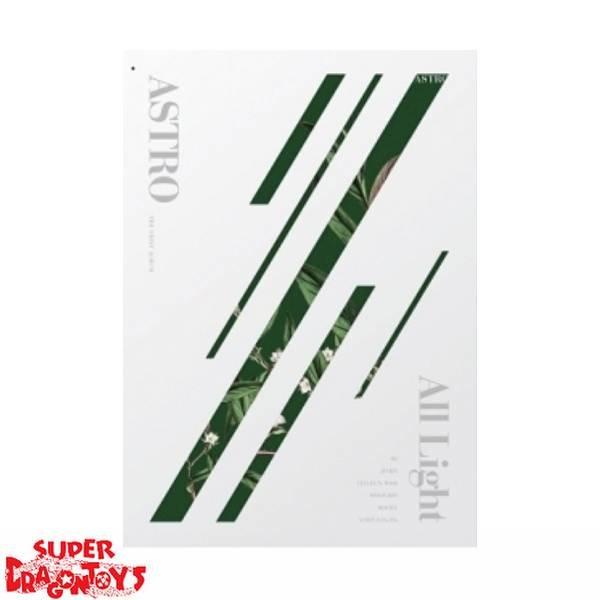 ASTRO - ALL LIGHT - [WHITE] VERSION - 1ST ALBUM + FREE [FOLDED] OFFICIAL POSTER