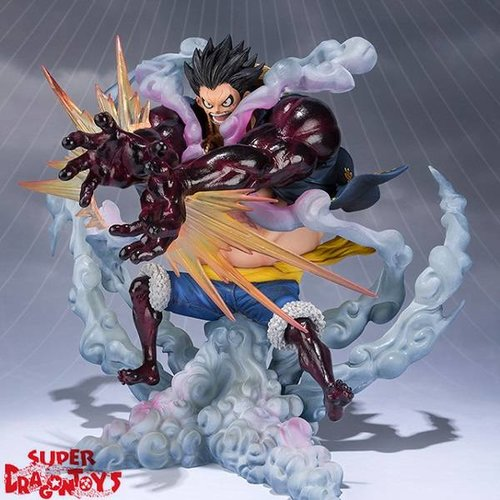 "ONE PIECE - MONKEY D. LUFFY [GEAR 4 ""LEO BAZOOKA"" PUNCH] - FIGUARTS ZERO EXTRA BATTLE"