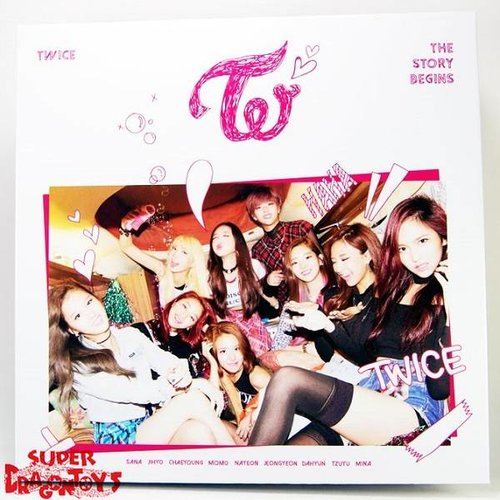 TWICE - THE STORY BEGINS - 1ST MINI ALBUM