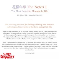 BTS - THE MOST BEAUTIFUL MOMENT IN LIFE [THE NOTES 1] - NOVEL - ENGLISH EDITION [+ SPECIAL NOTEBOOK]