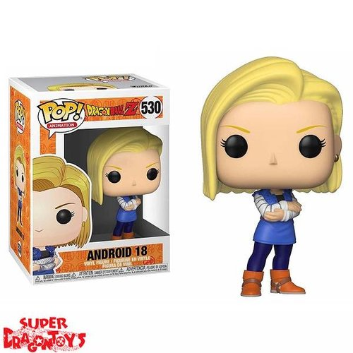 DRAGON BALL Z - ANDROID 18 - FUNKO POP