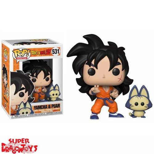DRAGON BALL Z - YAMCHA & PUAR - FUNKO POP