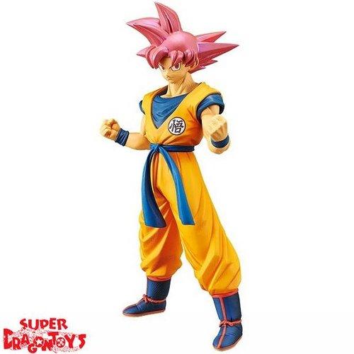 "BANPRESTO  DRAGON BALL SUPER - SUPER SAIYAN GOD SON GOKU - ""CHOUKOKU BUYUUDEN"" SPECIAL FIGURE"