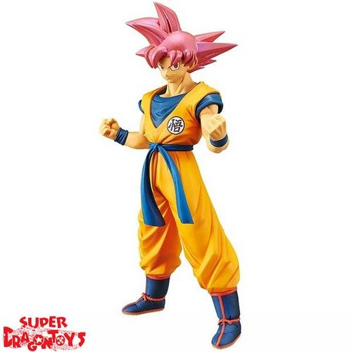 "DRAGON BALL SUPER - SUPER SAIYAN GOD SON GOKU - ""CHOUKOKU BUYUUDEN"" SPECIAL FIGURE"