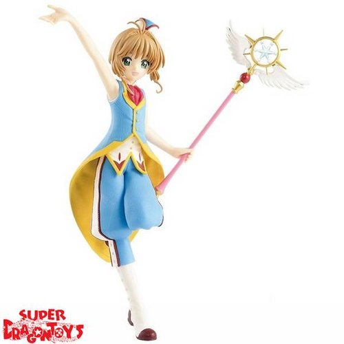 BANPRESTO  CARD CAPTOR SAKURA : CLEAR CARD ARC - SAKURA KINOMOTO - EXQ FIGURE