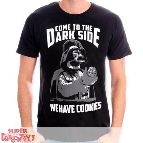 "TSHIRT - STAR WARS : DARK VADER "" WE HAVE COOKIES"""