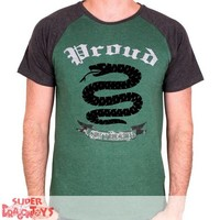 "TSHIRT - HARRY POTTER ""SLYTHERIN PROUD"""