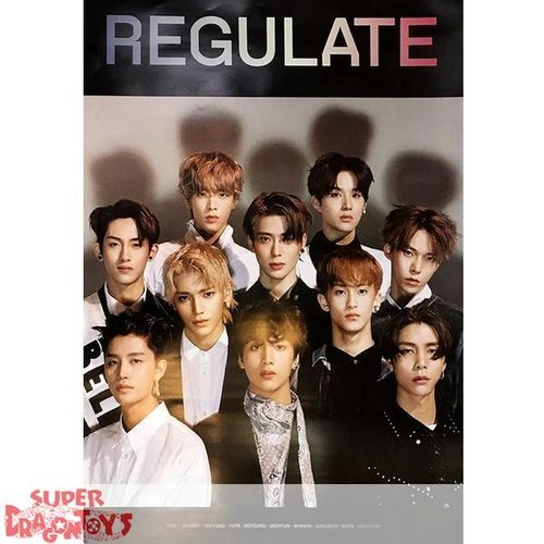 "NCT 127 - ""REGULATE"" OFFICIAL POSTER"