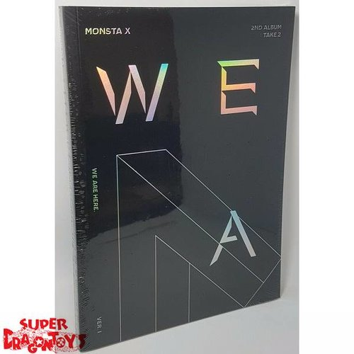 "MONSTA X - TAKE.2 ""WE ARE HERE"" - VERSION [I] - 2ND ALBUM"